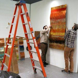 Exhibit at Artexpo Las Vegas