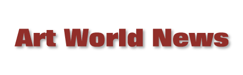 Art World News - Lead Media Sponsor